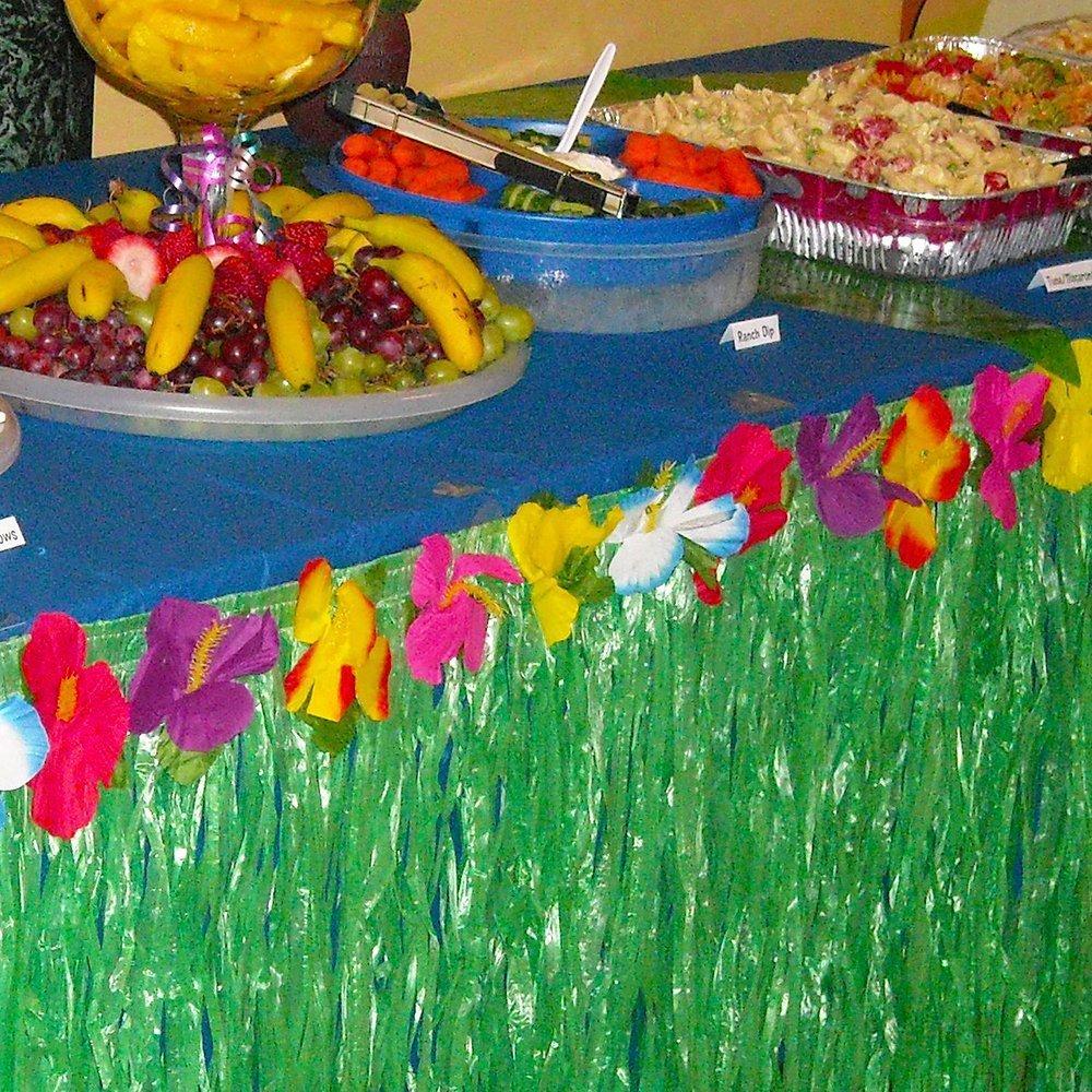 Kioneer Hawaiian Tischrock Luau