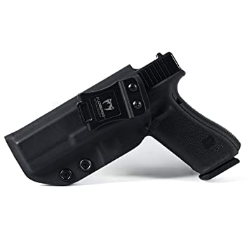 KOBRA Products IWB Holster for Glock 17, Holsters for Glock 17 22 31, Made  in USA Kydex IWB Glock Holster, Glock Concealed Carry Inside Waistband