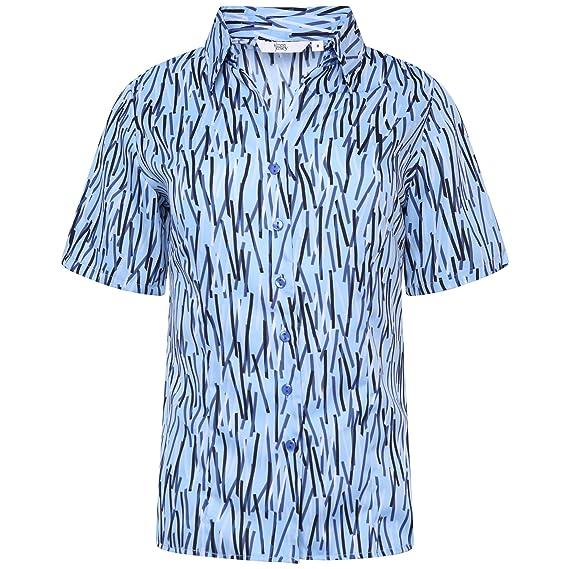 Simon Jersey - Camisas - Floral - para mujer: Amazon.es: Ropa y accesorios