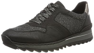 Rieker Damen Sneaker schwarz M6224 02 Damenschuhe