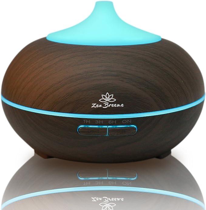 Zen Breeze Essential Oil Aromatherapy Diffuser