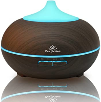 essential oil diffuser dark wood
