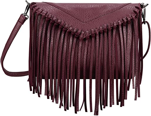 WOMEN FRINGED CHAIN DETAIL TOTE CROSSBODY LADIES SHOULDER BAGS LARGE SMALL SIZE