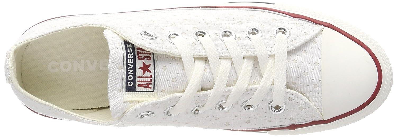 Converse Unisex-Erwachsene CTAS OX Navy Weiß/Garnet/Athletic Navy Sneaker Weiß (Weiß/Garnet/Athletic Navy OX 102) 5de935