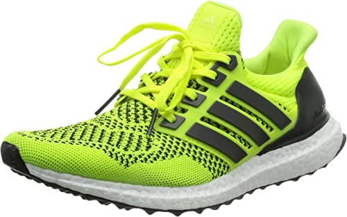 luto Directamente transmitir  Amazon.com | adidas Mens Ultra Boost Running Shoes - Solar Yellow - Neutral  Cushion - US 8 - Yellow | Running
