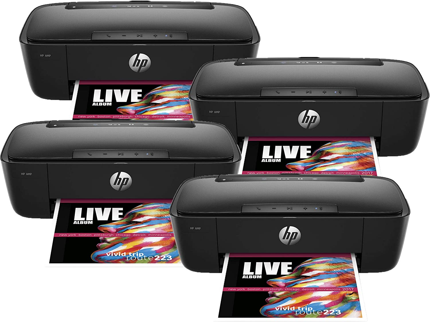 T8X39A HP AMP 100 Wireless Printer Printer and Bluetooth Speaker in One