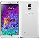 Samsung Galaxy Note 4 N910C 32GB Unlocked GSM 4G LTE Smartphone - Frost White (International Version)