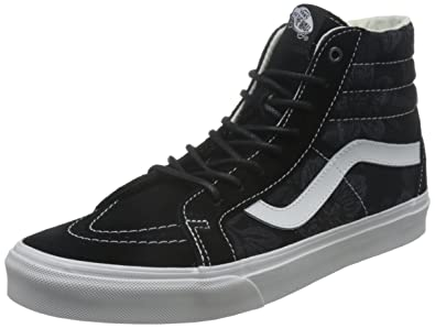 a12a4bb877c9 Vans SK8 HI Reissue Floral Jacquard Black Men s Shoes (9.5 Men - 11 Women