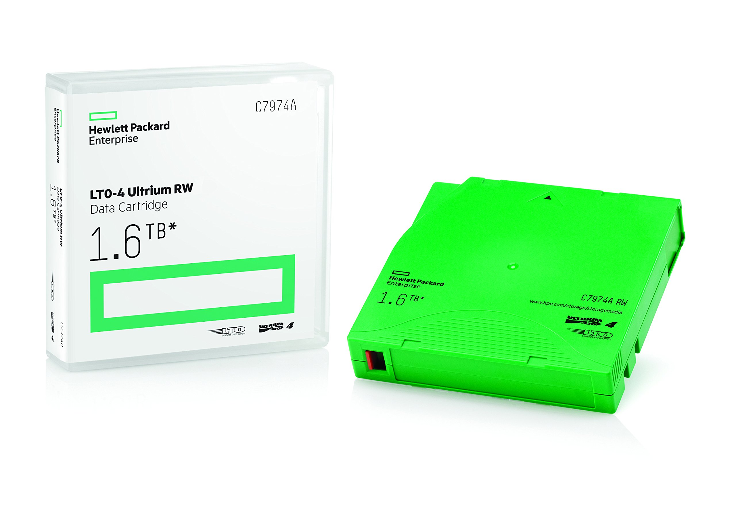 Data Cartridge HP Ultrium LTO-4 1.6TB C7974A (1N4U)
