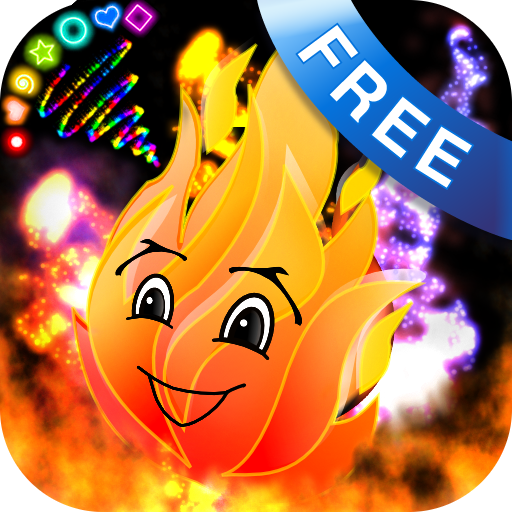 Doodle Fire! Glow Draw FX (Doodle Fire! FREE for Kindle Fire!)