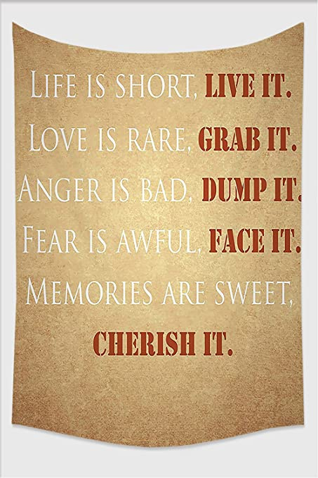 Amazon NalahomeQuotes Decor Collection Inspirational Quotes Custom Sweet Quotes About Life And Love