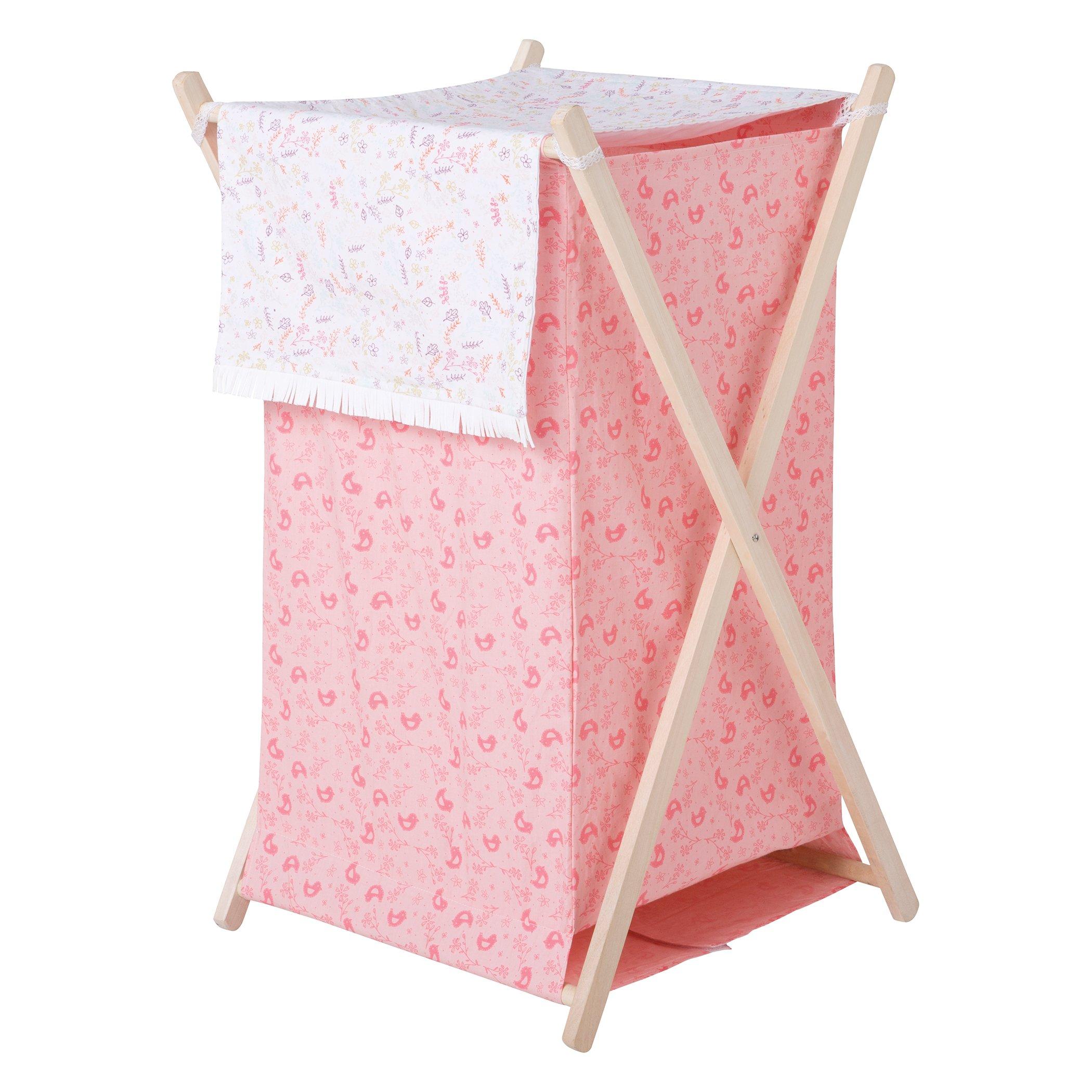 Trend Lab Wild Forever Hamper Set, Pink