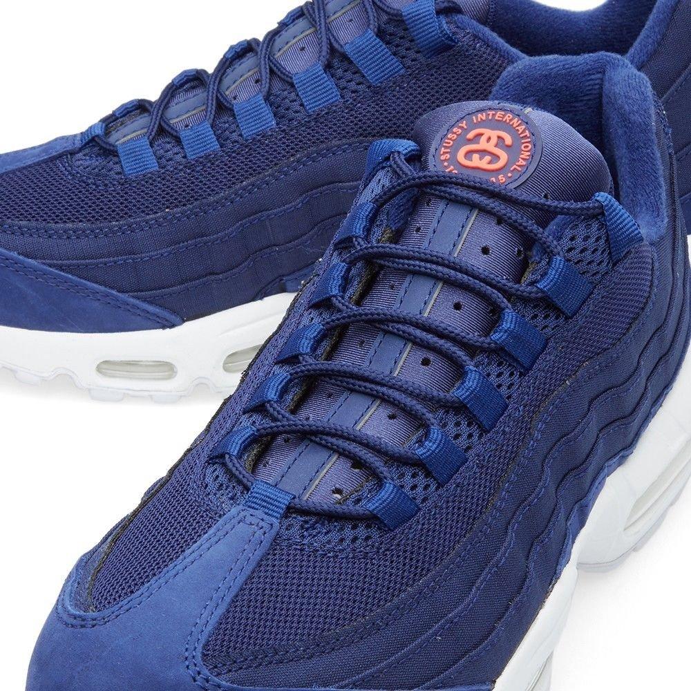 sale retailer fca4f 39176 Nike AIR MAX 95   Stussy Loyal Blue-Loyal Blue-White SZ 11 Rare!   834668-441   Amazon.ca  Shoes   Handbags