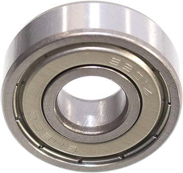 Ball Bearing 32 X 12 X 10 Mm 6201 Zz 2z Deep Groove Ball Bearing Metal Shielding Baumarkt
