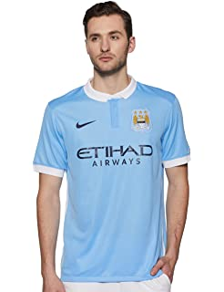 45634c533930 Amazon.com : Nike 2018-2019 Man City Home Football Soccer T-Shirt ...