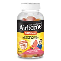 Deals on Airborne Vitamin C 750mg Assorted Fruit Flavored Gummies 75 CT