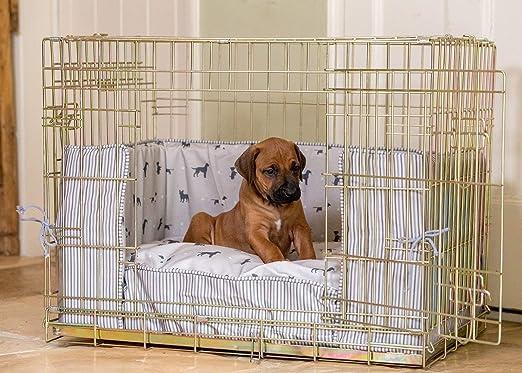 Lords & Labradors Cosmopolitan - Juego de parachoques para perro con una caja Ellie-Bo (incluye un ratón, un parachoques y un cojín): Amazon.es: Productos para mascotas