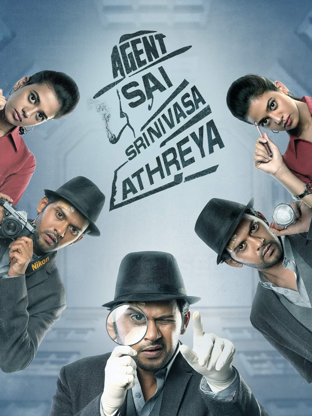 Agent Sai Srinivasa Athreya 2019 UNCUT 720p HEVC HDRip South Movie [Dual Audio] [Hindi or Telugu] x265 AAC ESubs [800MB]