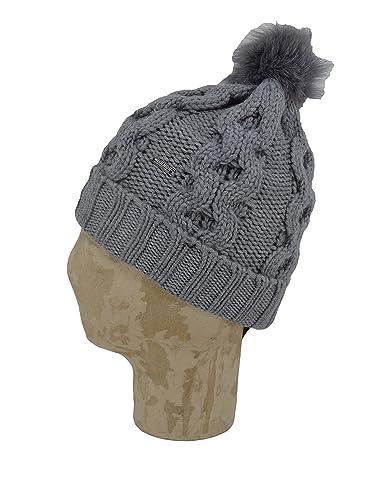 Woolrich - Gorro de punto - para mujer Gris gris Talla única