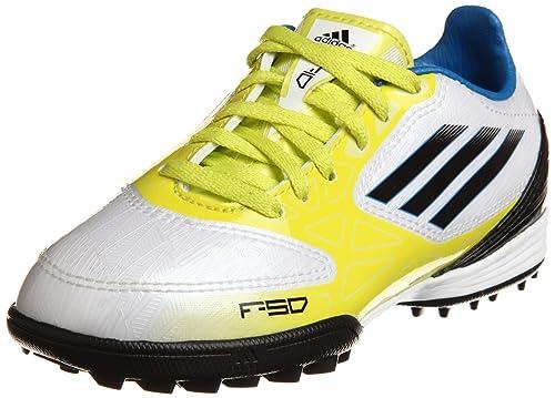 Adidas - Scarpe Calcio Ragazzo Unisex - F10 TRX TF J - Taglia 37,5