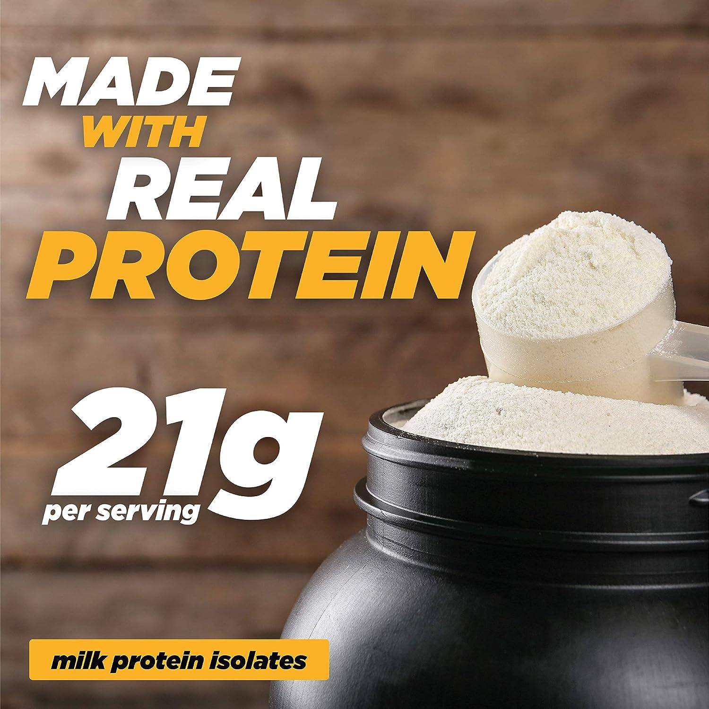 Twin Peaks es bajo en calorías, Protein Puffs es apto para alérgicos, Queso Nacho (300g, 21g de proteína, 2g de carbohidratos, 130 calorías)