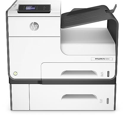 HP Impresora y bandeja PageWide Pro 452dwt - Impresora de tinta (50000 páginas por mes, 2400 x 1200 DPI, PCL 6,PostScript 3, Negro, Cian, Magenta, ...