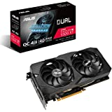 ASUS AMD Dual Radeon RX 5500 XT EVO OC Edition Gaming Graphics Card (PCIe 4.0, 4GB GDDR6 Memory, HDMI, DisplayPort, Full HD G