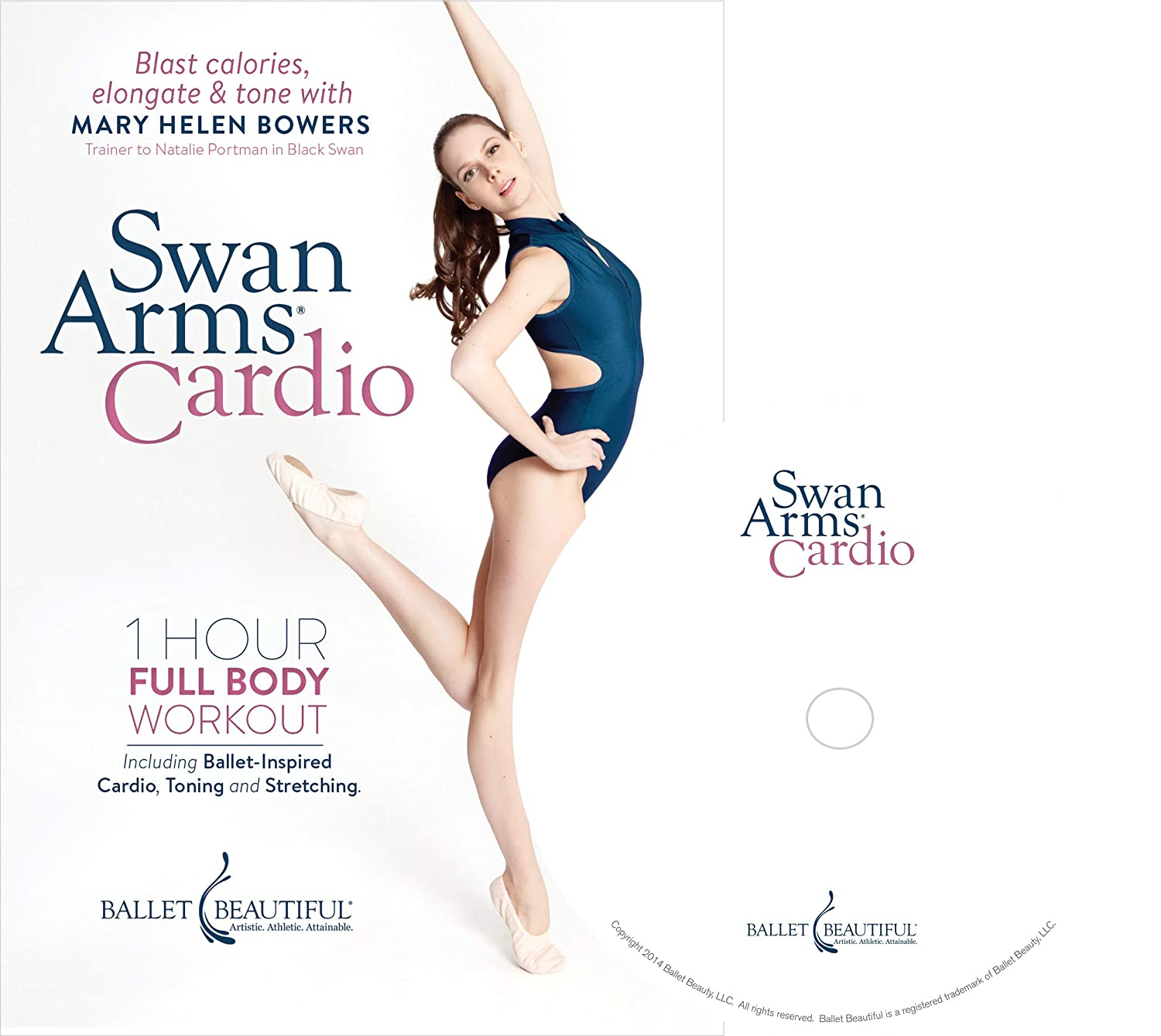 3a66af2f94ff4 Amazon.com: Ballet Beautiful: Swan Arms Cardio: Mary Helen Bowers, Ashley  Connor: Movies & TV