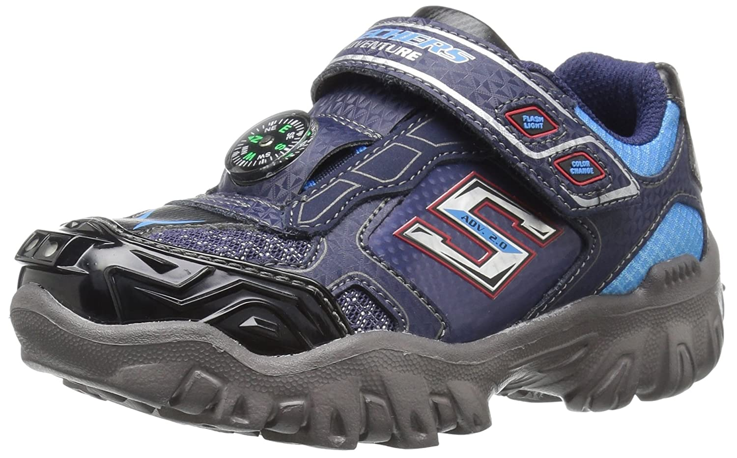 Skechers Kids Damager III Adventure Extreme Sneaker (Little Kid/Toddler) 90491L