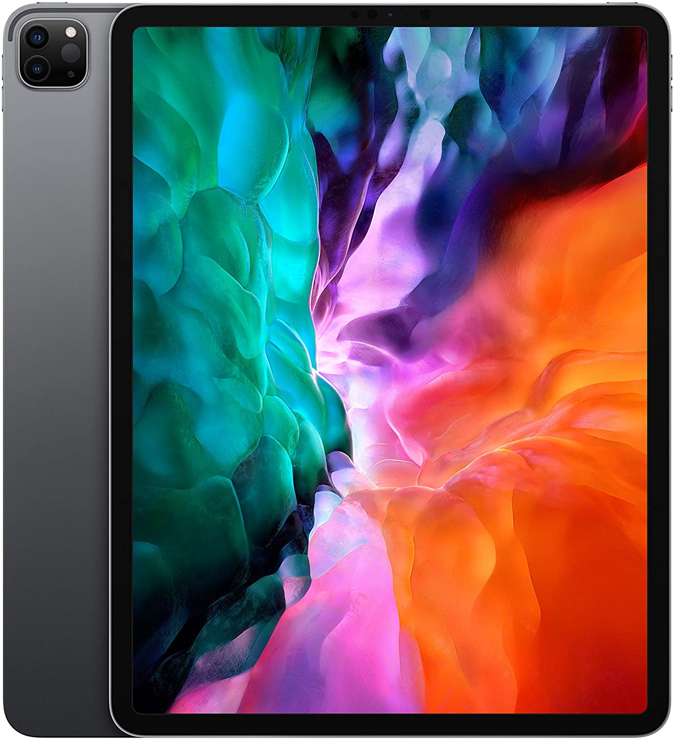 """Apple iPad Pro 12.9"""" (2020 – 4th Gen), Wi-Fi, 256GB, Space Gray [With Facetime]"""