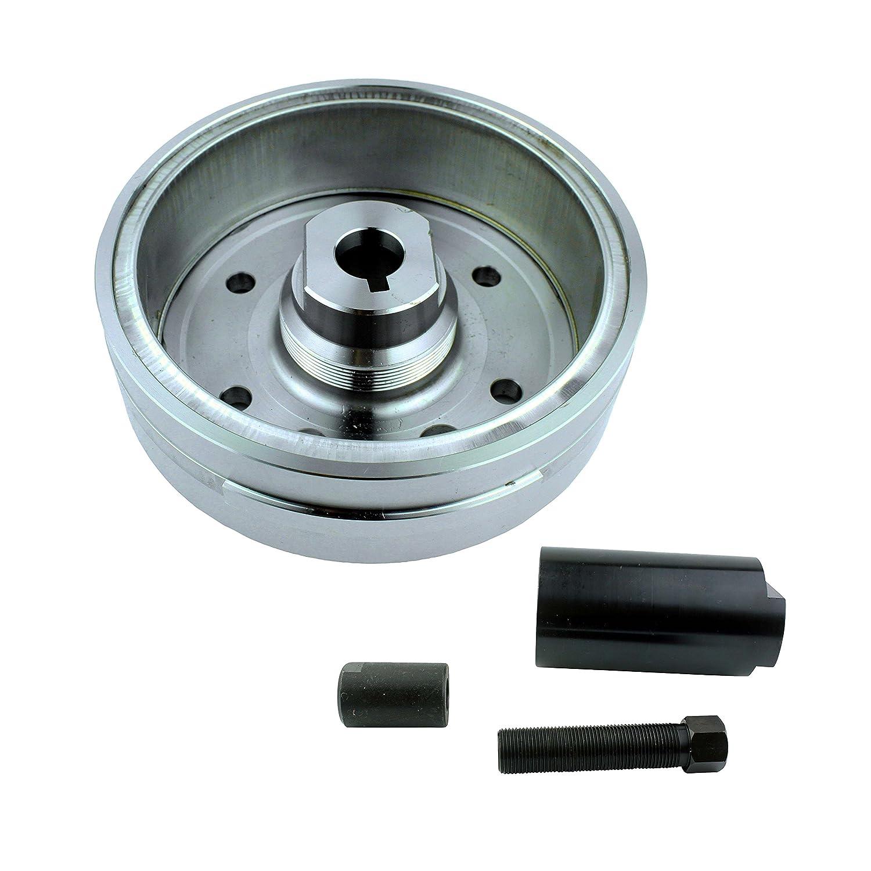 09930-30721 32102-38F01 Kit Improved Magneto Flywheel Flywheel Puller for Suzuki LTA 400 Eiger Automatic LTF 400 Eiger Manual 2002-2007 OEM Repl.# 32102-38F00