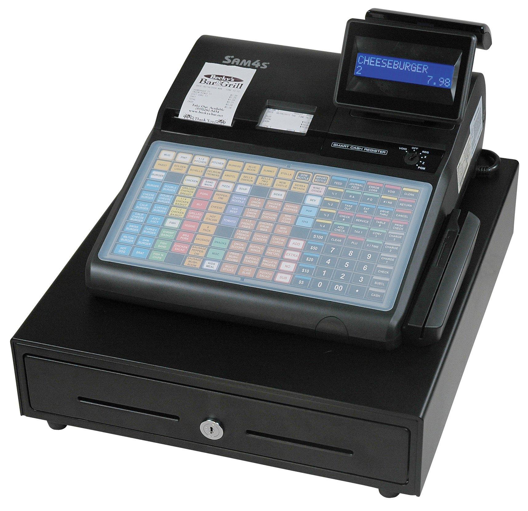 SAM4s ER-940 Cash Register with flat keyboard, with receipt printer by SAM