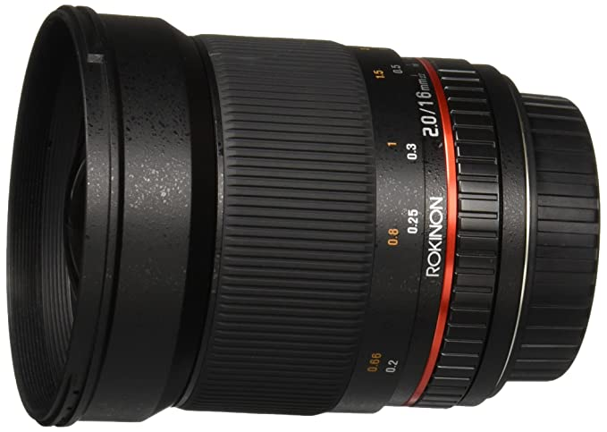 Review Rokinon 16M-C 16mm f/2.0