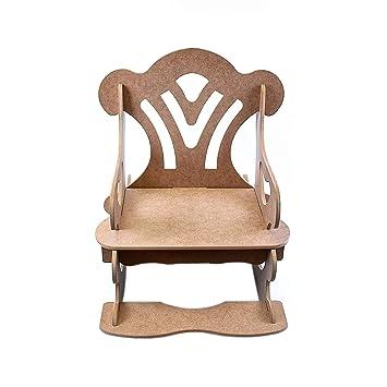 Ahşap Boyama Hobi Sallanan Sandalye 54 76 73 Cm Amazoncomtr 25