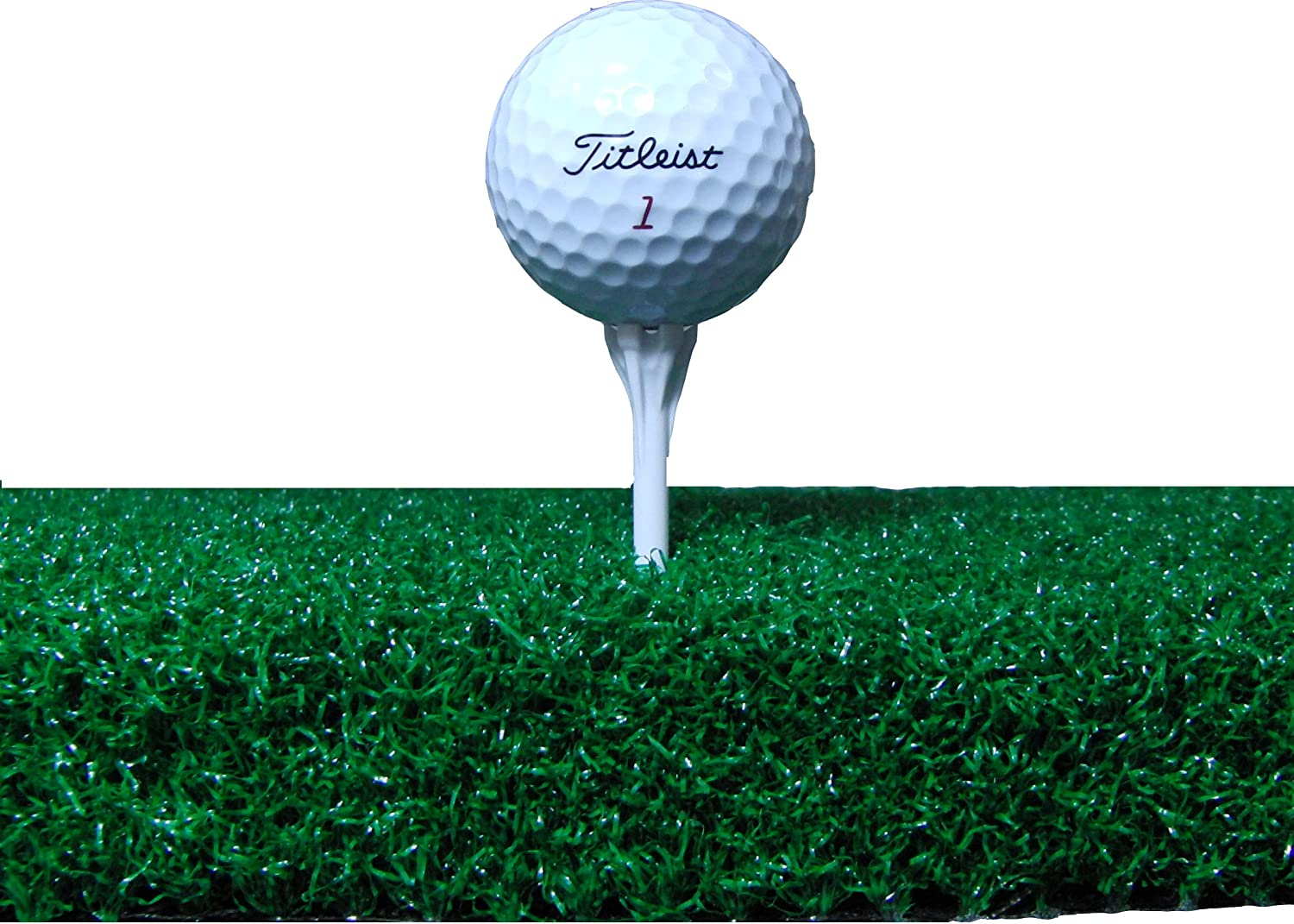 "All Turf Mats 60"" X 60"" XL Tee Golf Mat - Holds A Wooden Tee"