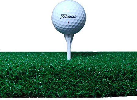 All Turf Mats 60 X 60 XL Tee Golf Mat – Holds A Wooden Tee