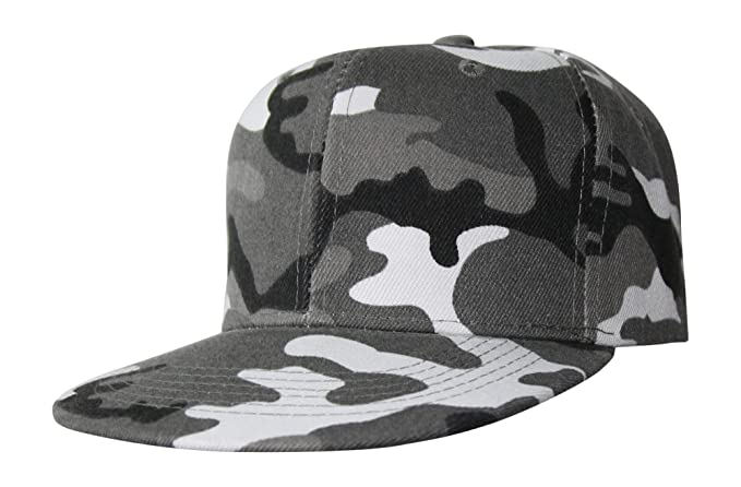 beybey Army Tarn Snapback Cap Caps mit Tarnmuster Camouflage Bundeswehr  (Camoflage Black) 5a9bedcc91