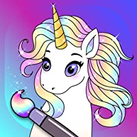 Animated Glitter Coloring Book - My Little Unicorn
