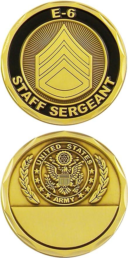 U.S Army Staff Sergeant E-6 Challenge Coin