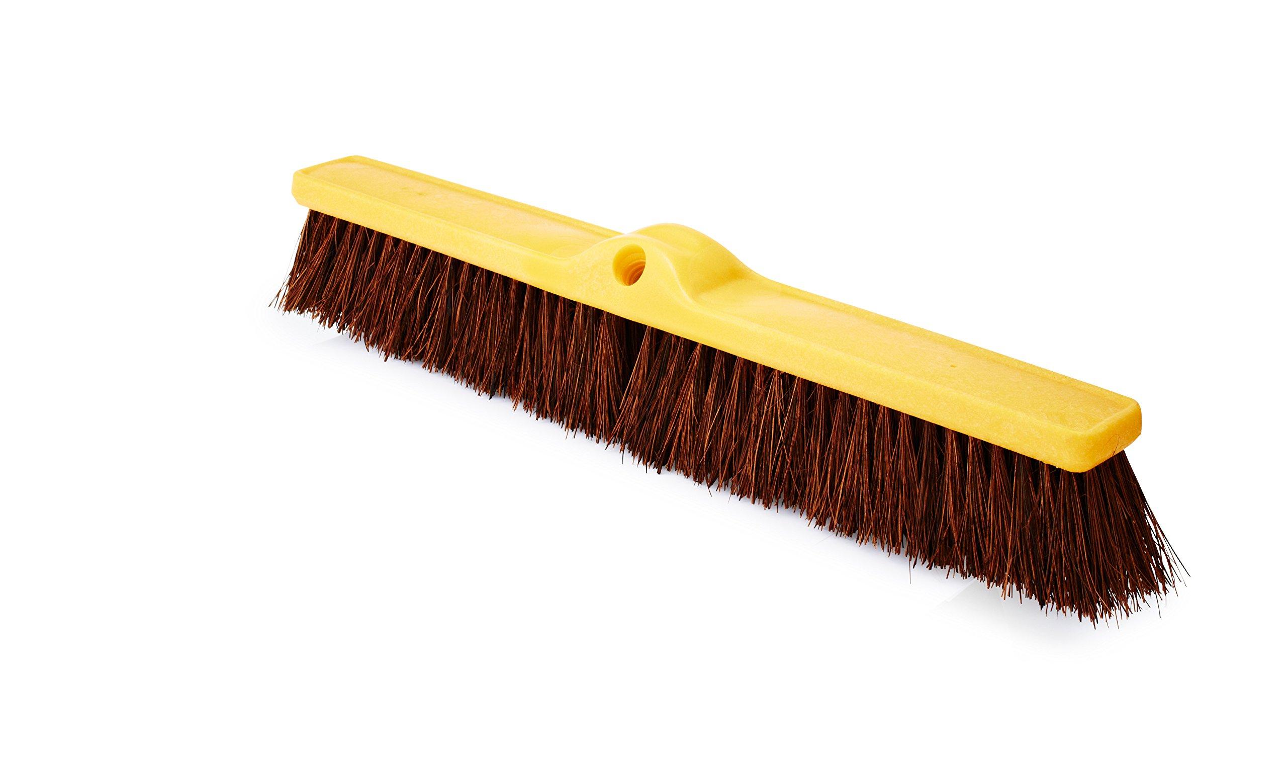 Rubbermaid Commercial Fine Floor Sweep, Palmyra, Plastic Broom Head, 24'', FG9B1800BRN
