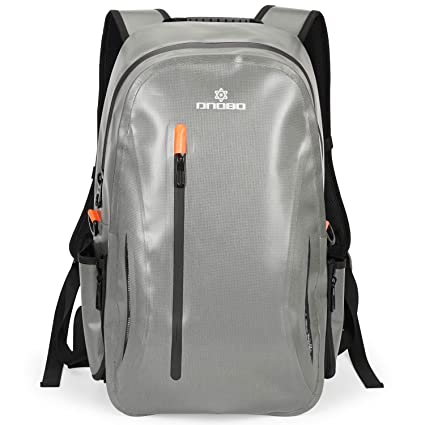 5e7fd29e73 VILOCY 100% Water-Resistant Airtight Backpack - 24L Dry Bag Backpack  Waterproof Scratch-Resistant Submersible Bags with Removable Padded Sleeve  for 14