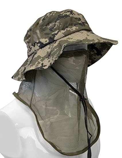 66e653b6163b0 Tirrinia Outdoor Sun Protection Fishing Cap with Neck Flap for Baseball  Backpacking Cycling Hiking Garden Hunting