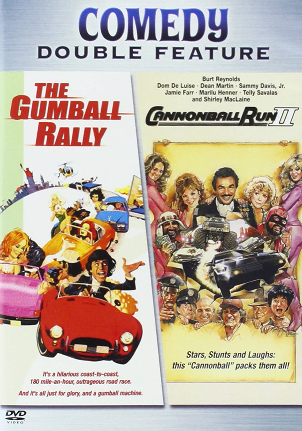 The Gumball Rally / Cannonball Run 2 Various Warner Bros. Home Video 76757 Comedies