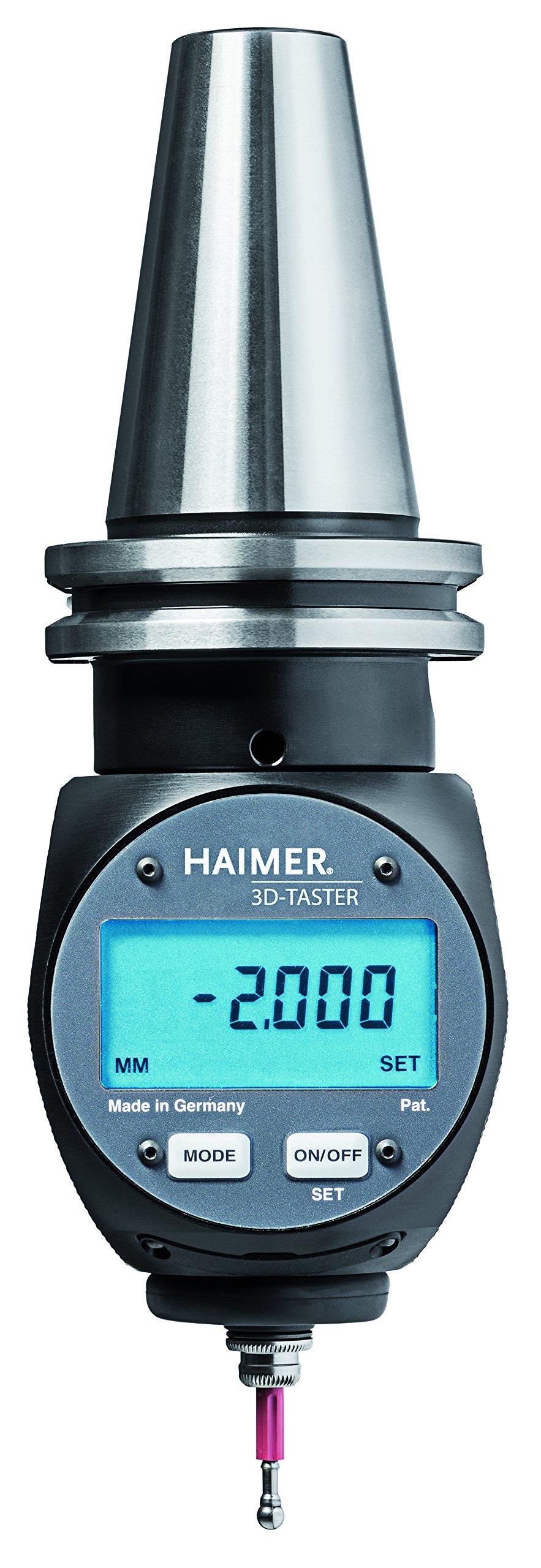 Haimer 80.464.40.FHN Digital 3D-Sensor with Integrated Taper, Neutral Model