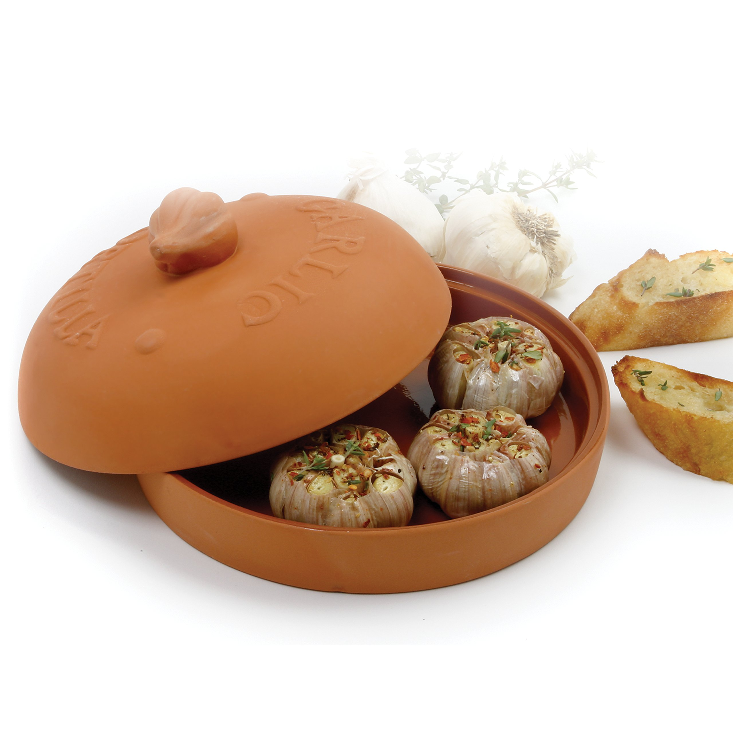 Norpro 1064 Garlic Baker/Tortilla Warmer by Norpro