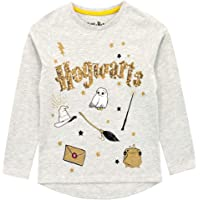 HARRY POTTER Camiseta de Manga Larga para niñas Hogwarts