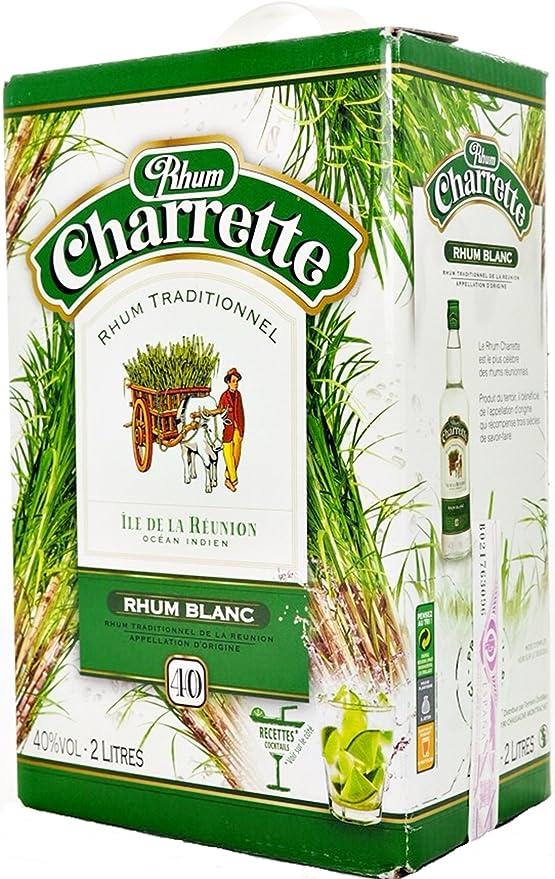 Charrette Ron Blanco 40% Box 2 Litros: Amazon.es ...