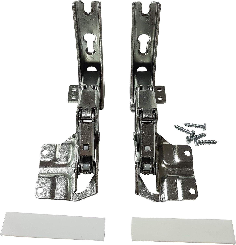 Juego de bisagras para puerta (1 par, compatible con Bosch ...