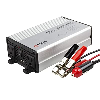 Wagan EL2610 Gray 400W Pro Pure Sine Wave Power Inverter: Automotive [5Bkhe2011904]