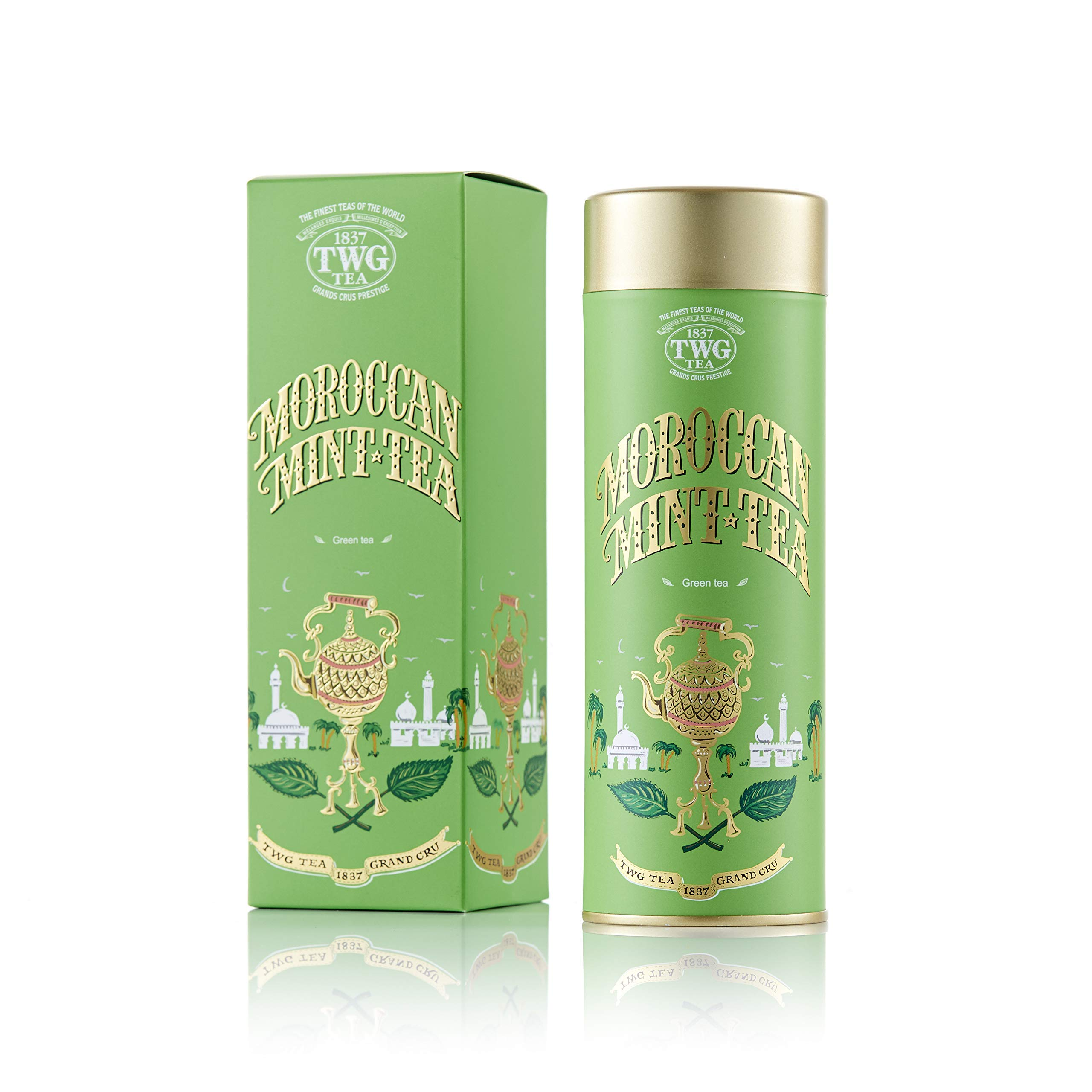 TWG Singapore - The Finest Teas of the World - MOROCCAN MINT Tea - 100gr